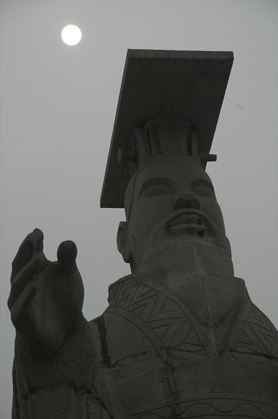 Emperor of Qin's Statue - Xi'an, China