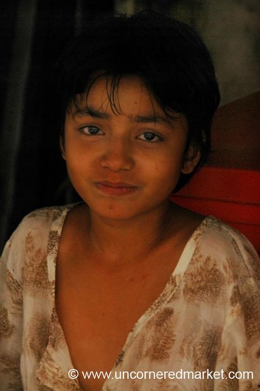 Burmese Girl - Rangoon, Burma (Yangon, Myanmar)