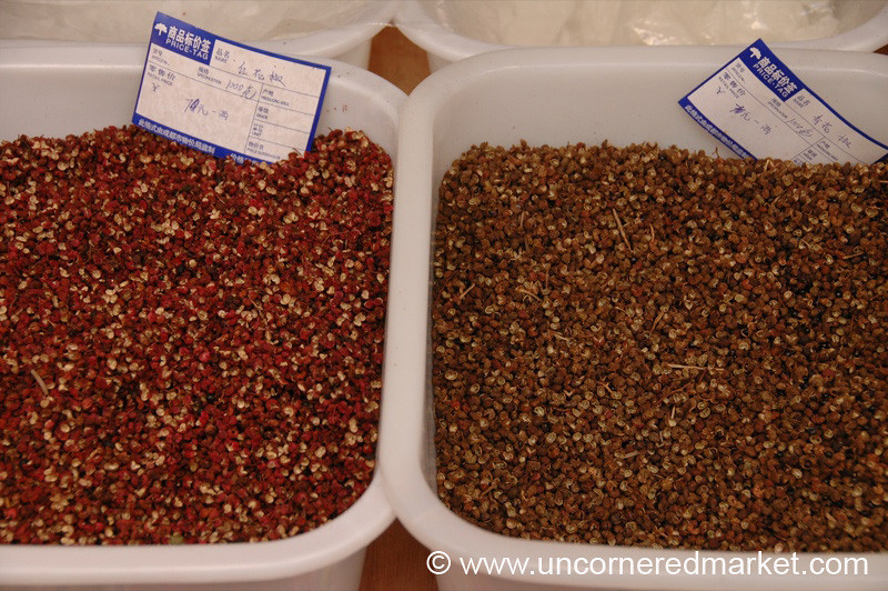 Sichuan Peppercorns - Chengdu, China