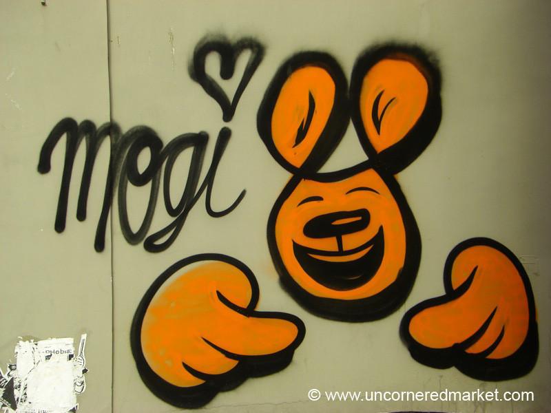 Mouse Graffiti - Vilnius, Lithuania