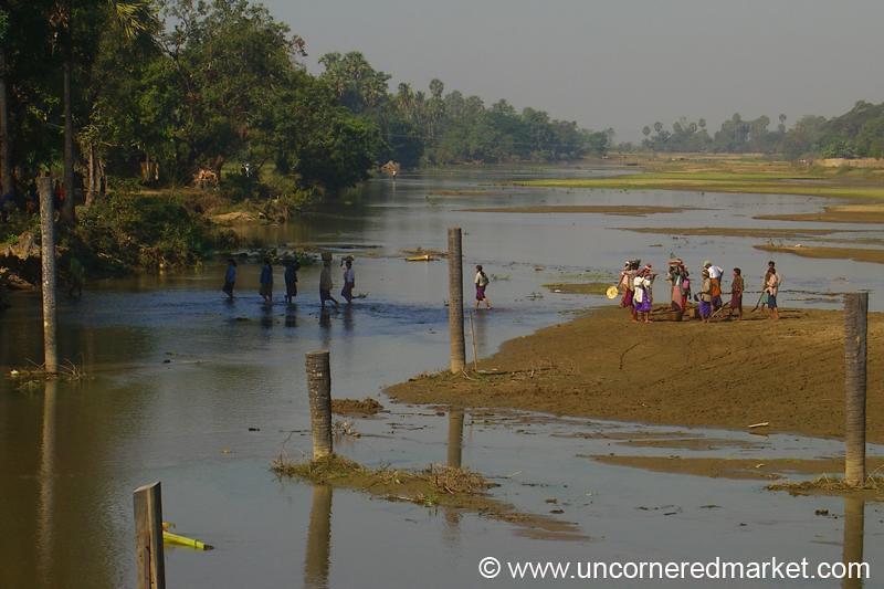 River Mud - Toungoo, Burma