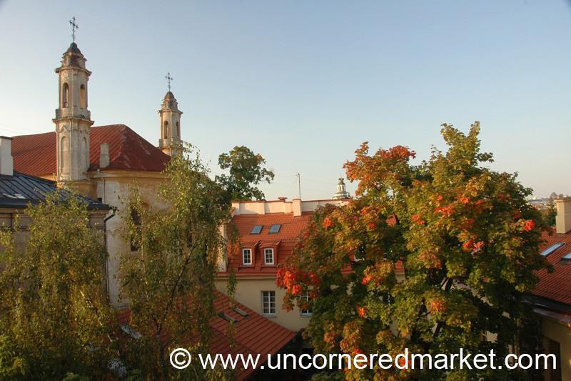 Autumn Colors in Vilnius, Lithuania