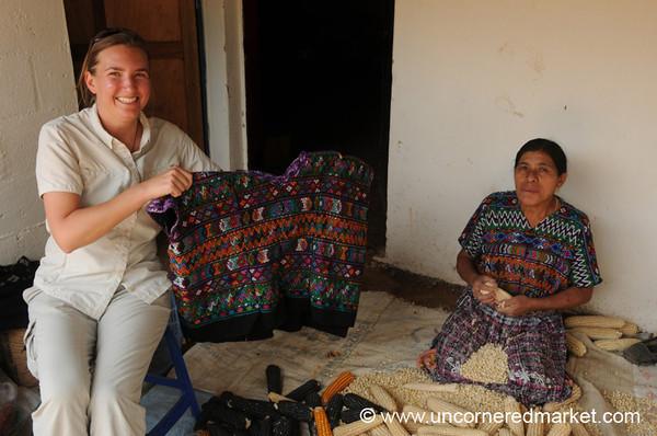 Guatemalan Traje (Traditional Dress) - Guatemala City, Guatemala