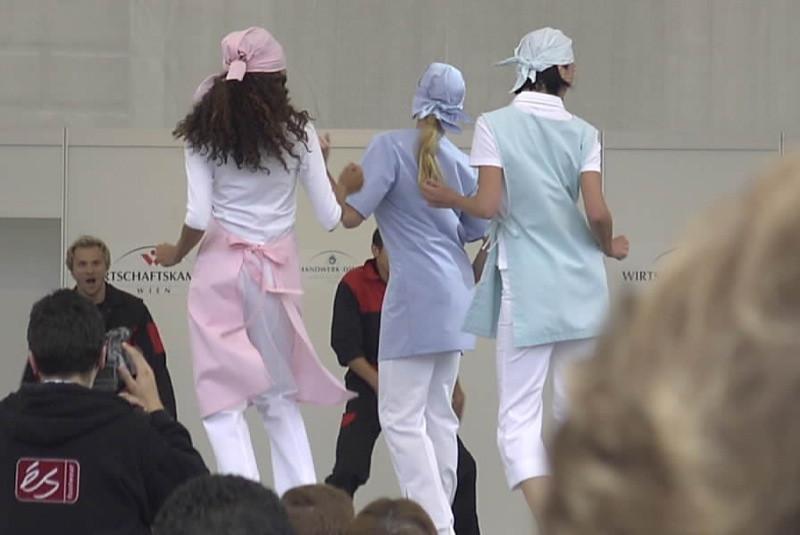 Nurses Fashion Show - Vienna, Austria