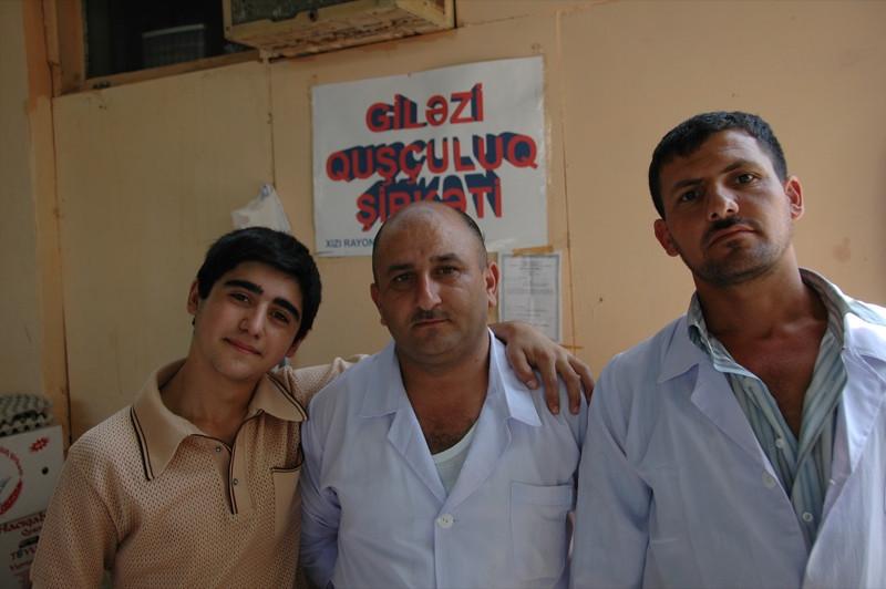 Friends at Taza Market - Baku, Azerbaijan