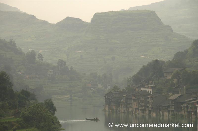 Misty River, Chong'an - Guizhou Province, China
