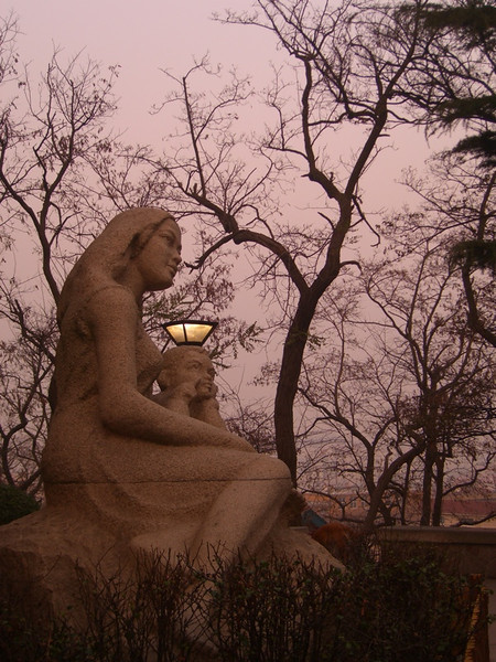 Mother and Child Statue - Qingdao, China