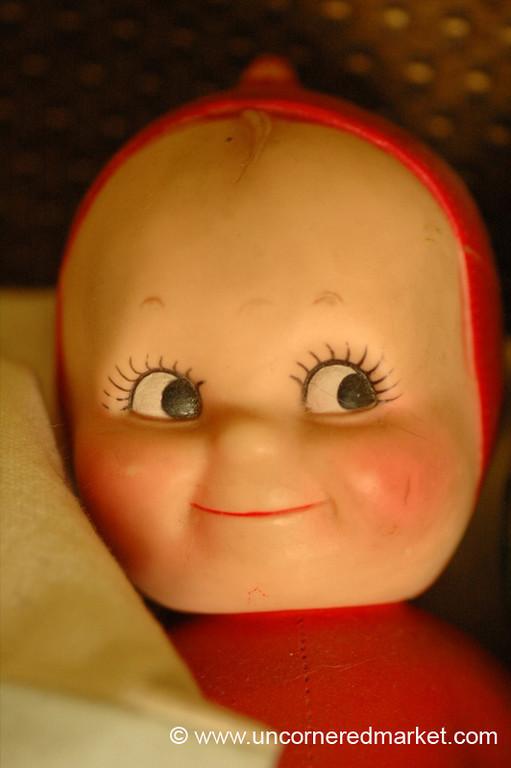 Smiling Doll - Prague, Czech Republic