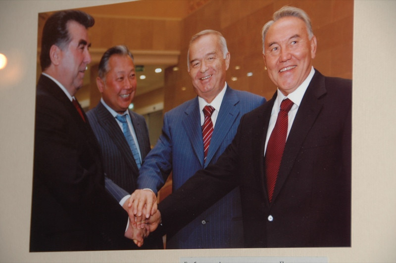 Central Asian Presidents - Bishkek, Kyrgyzstan
