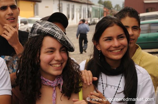 Venezuelan Girls - Antigua, Guatemala