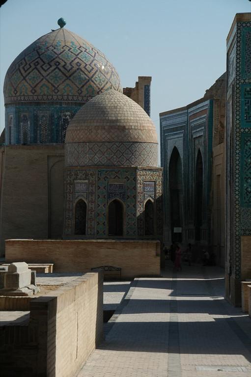 Mausoleum Row - Samarkand, Uzbekistan