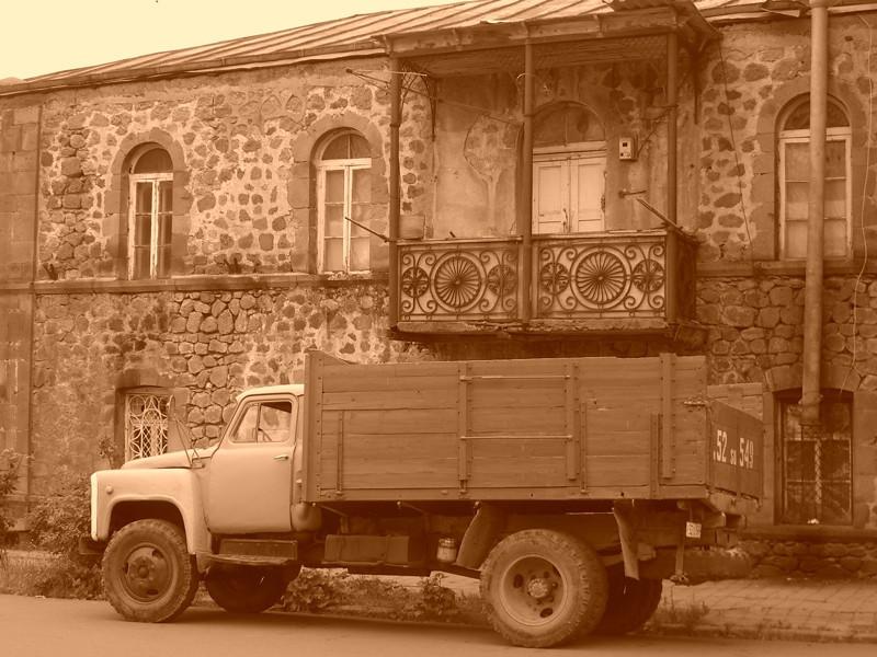Old Balcony - Goris, Armenia
