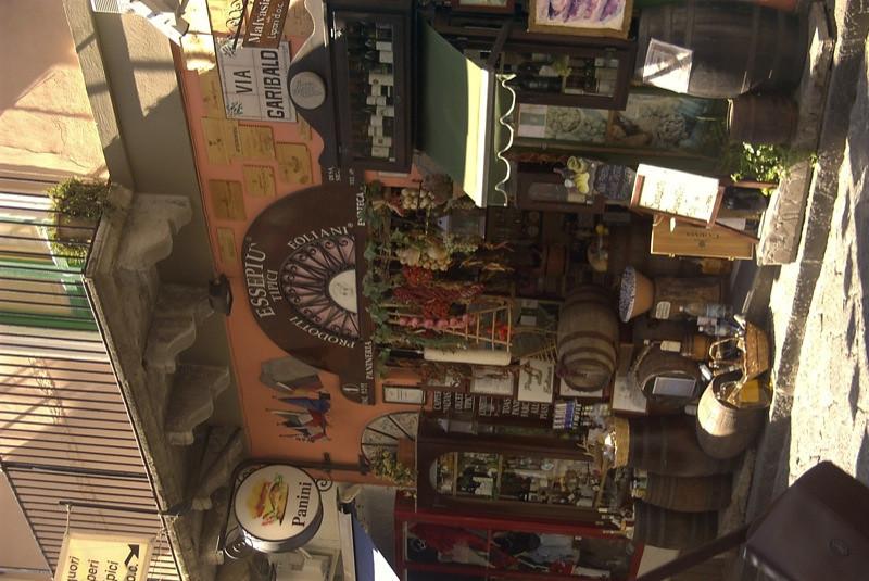 Lipari Food Shop - Sicilian Coast, Italy