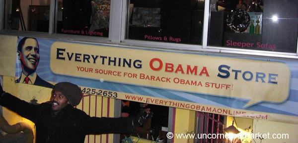 Obama Store - Washington DC, USA