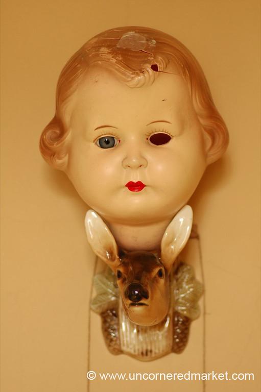 Doll and Deer - Prague, Czech Republic