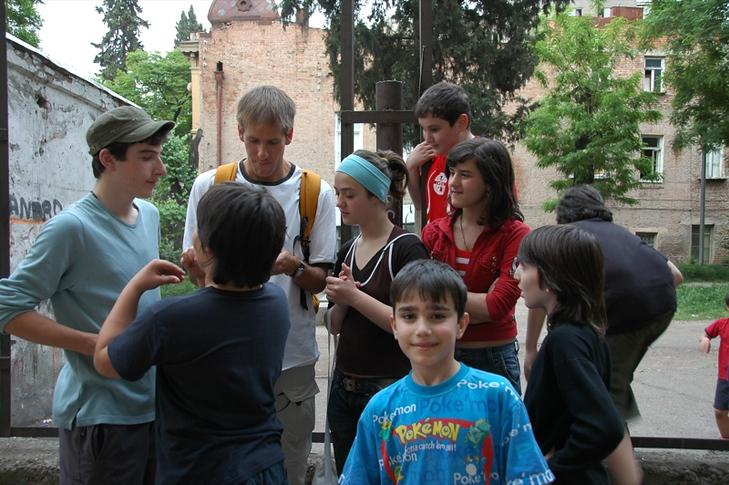 Kids of Sololaki - Tbilisi, Georgia