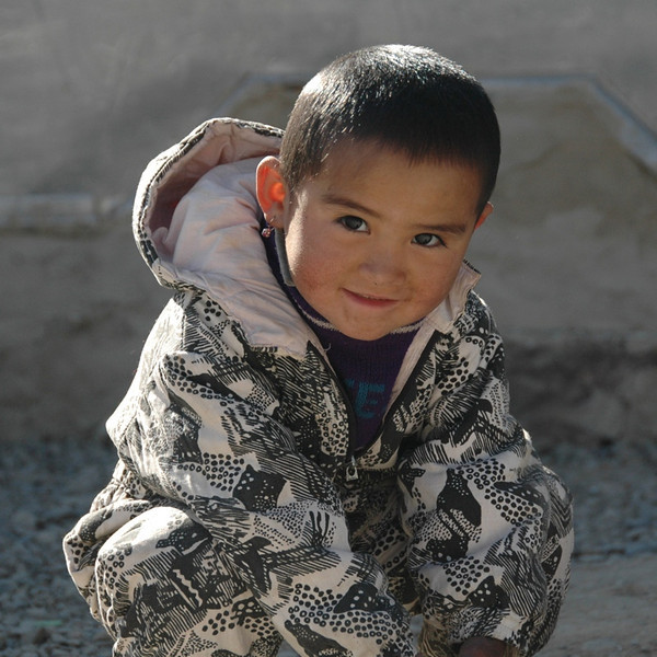 Cute Kyrgyz Girl - Murghab, Tajikistan