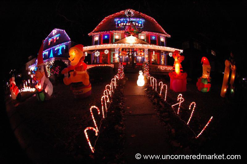 Christmas Lights - Scranton, Pennsylvania