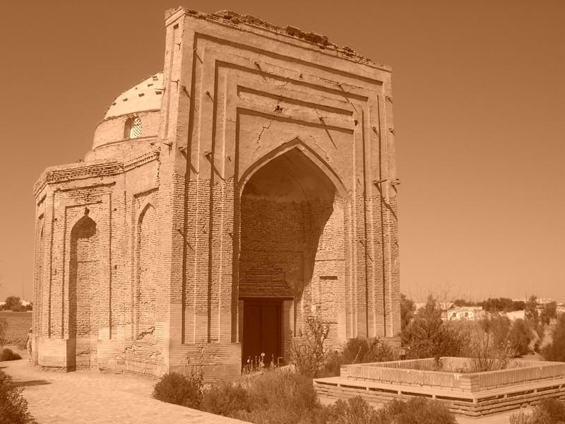 Sultan Tekesh Mausoleum - Konye-Urgench Turkmenistan