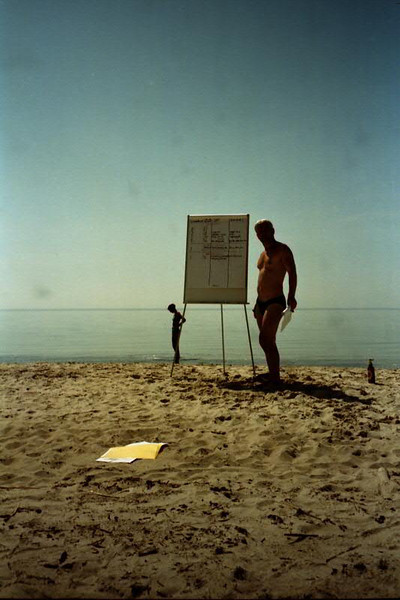 Business Meeting at the Beach - Estonia