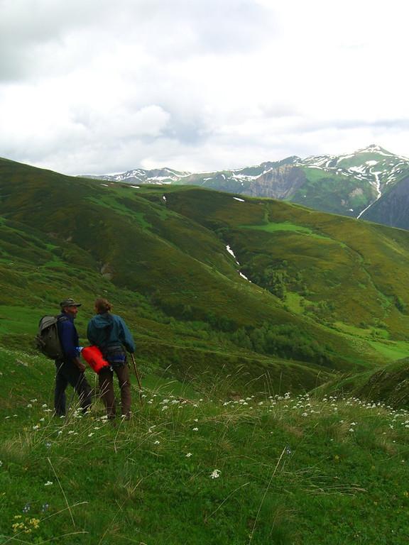Talking in the Mountains - Svaneti, Georgia