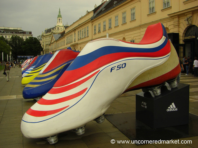 Football (Soccer) Cleats, Euro 2008 - Vienna, Austria