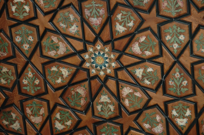 Floral design - Sheki, Azerbaijan