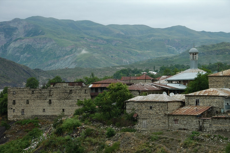 Village Houses of Lahic, Azerbaijan