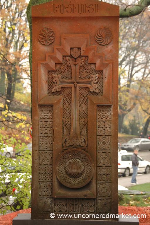 Armenian Cross - Riga, Latvia