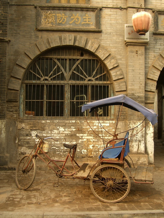 Bicycle Rickshaw - Pingyao, China