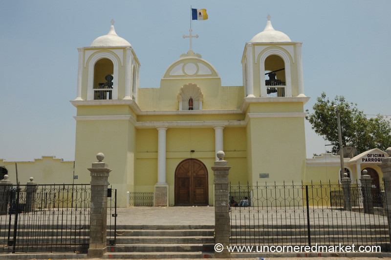 Church in San Martin Jilotepeque, Guatemala