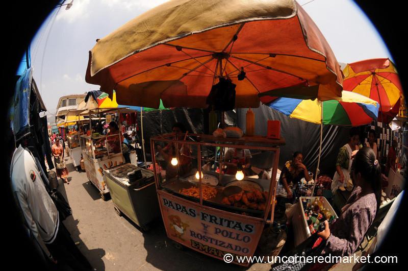Totonicapan Market Food - Guatemala