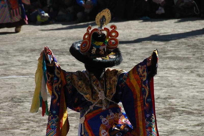 Dramatic Finale to Tibetan Opera - Xiahe, China