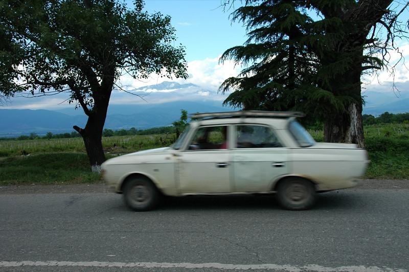 Fast Car - Kakheti, Georgia