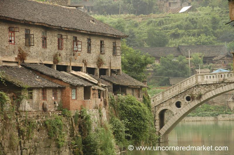 Peaceful Rural China - Guizhou Province, China