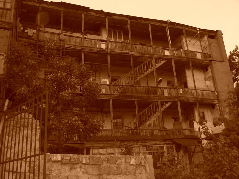 Georgian Architecture - Tbilisi, Georgia