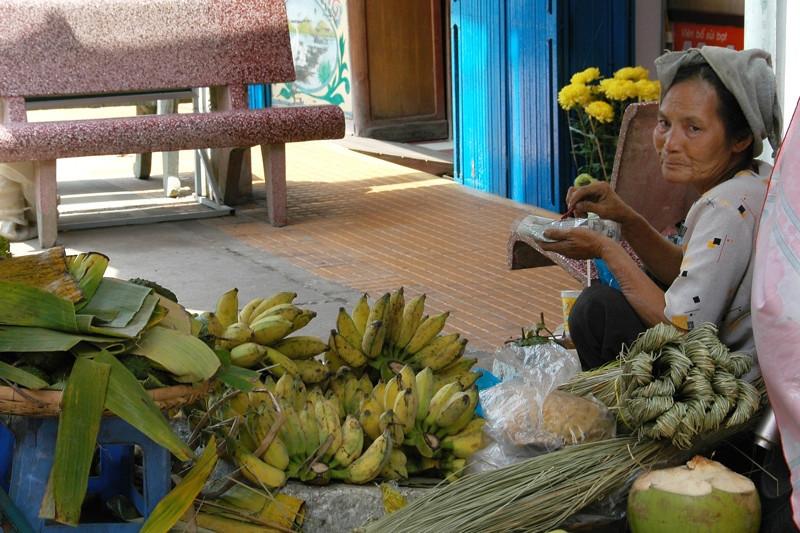 Banana Vendor - Mekong Delta, Vietnam