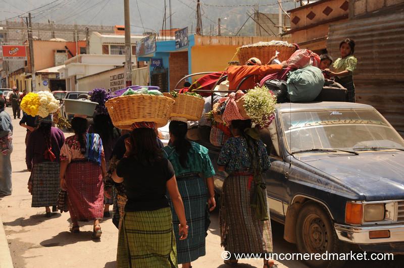 Totonicapan Market Day - Guatemala