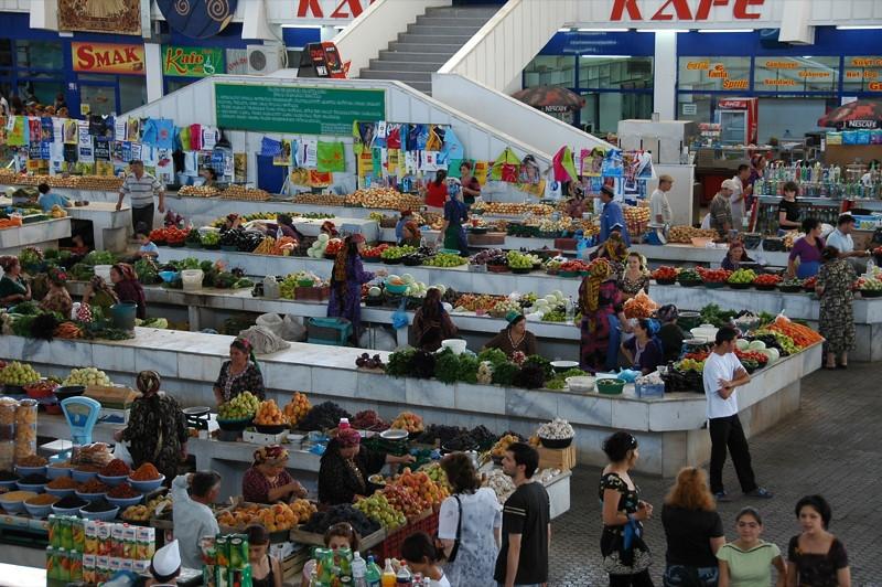 Gulustan Market - Ashgabat, Turkmenistan
