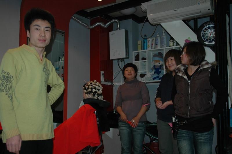 Chinese Barber - Xi'an, China