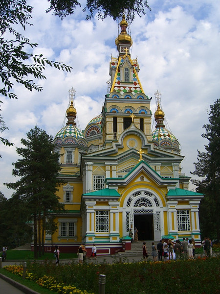 Zenkov Church - Almaty, Kazakhstan
