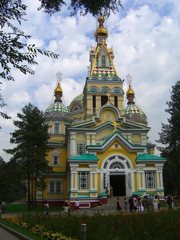 Zenkov Church - Almaty, Kazakhstan