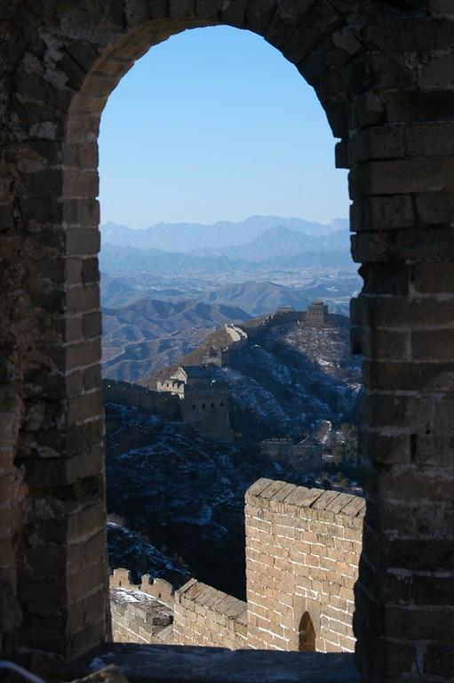 Great Wall of China View - Beijing, China