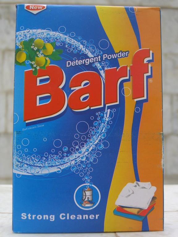 Barf Detergent Powder - Turkmenistan