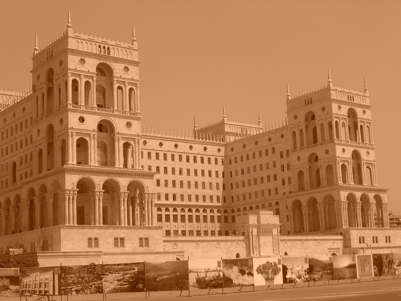 Government House on Freedom - Baku, Azerbaijan