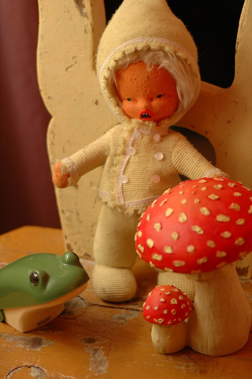 The Evil Doll, Cursed Frog and Mushrooms - Bohemia, Czech Republic