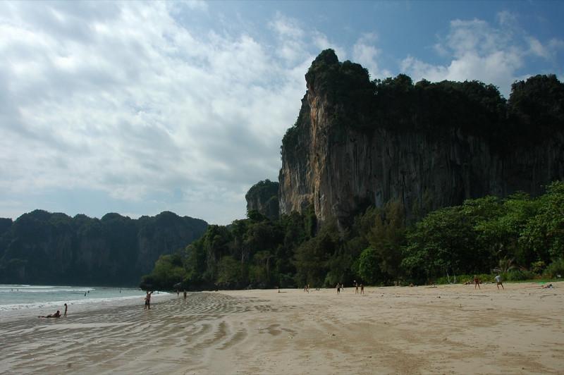 Afternoon Sun at Rai Leh Beach - Rai Leh, Thailand