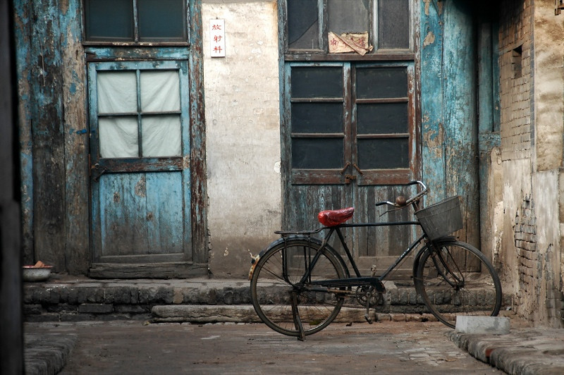 Bicycle Streetscapes - Pingyao, China