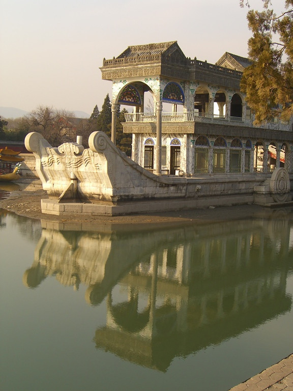 Marble Boat, Summer Palace - Beijing, China