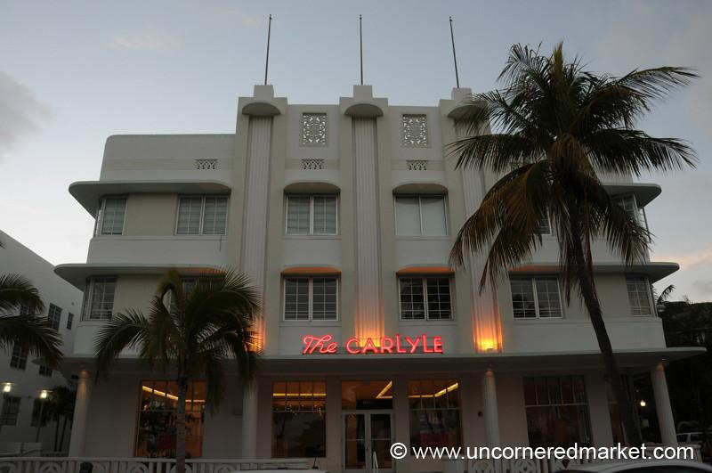 The Carlyle, South Beach - Miami, Florida